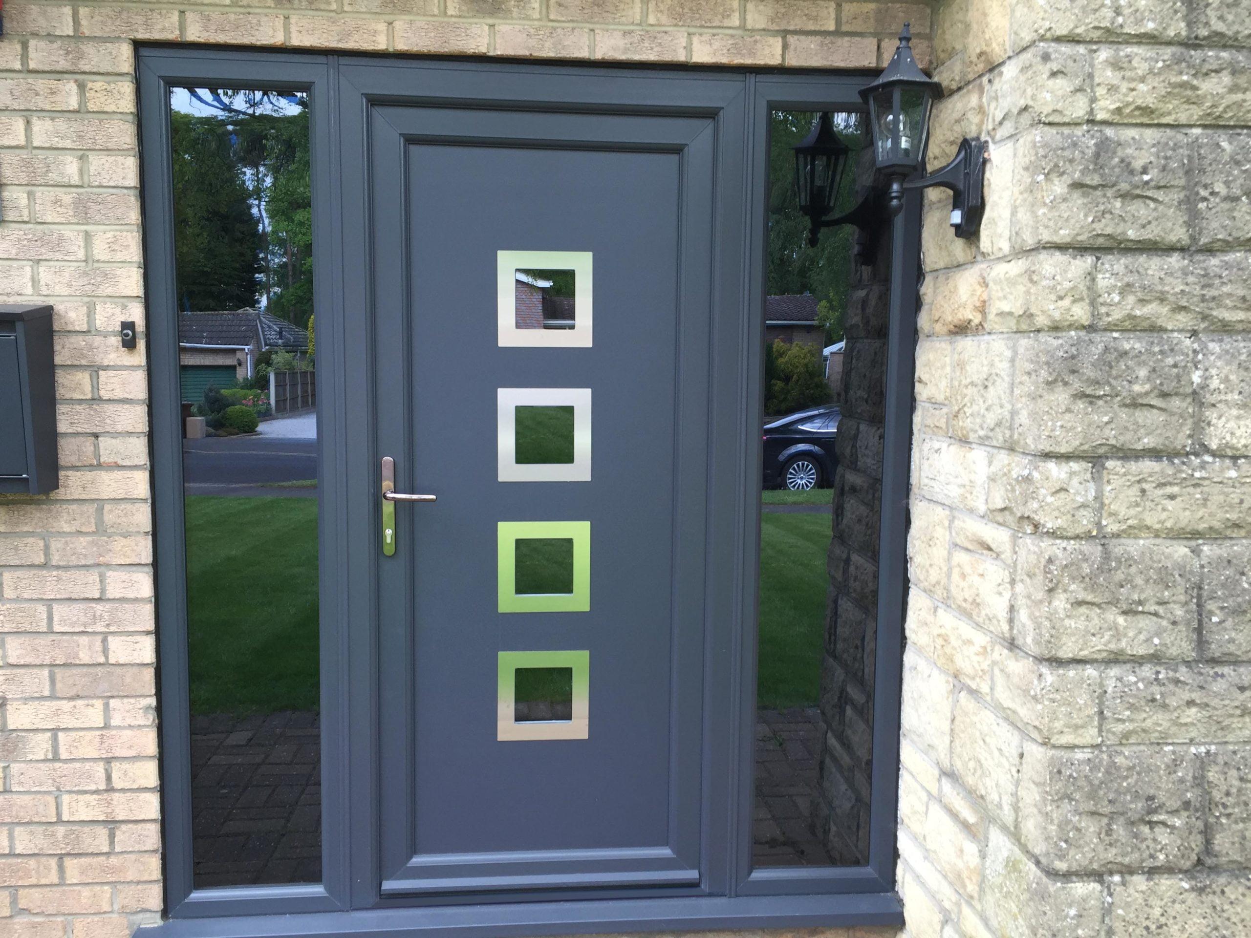 UPVC door by Wholesale Windows