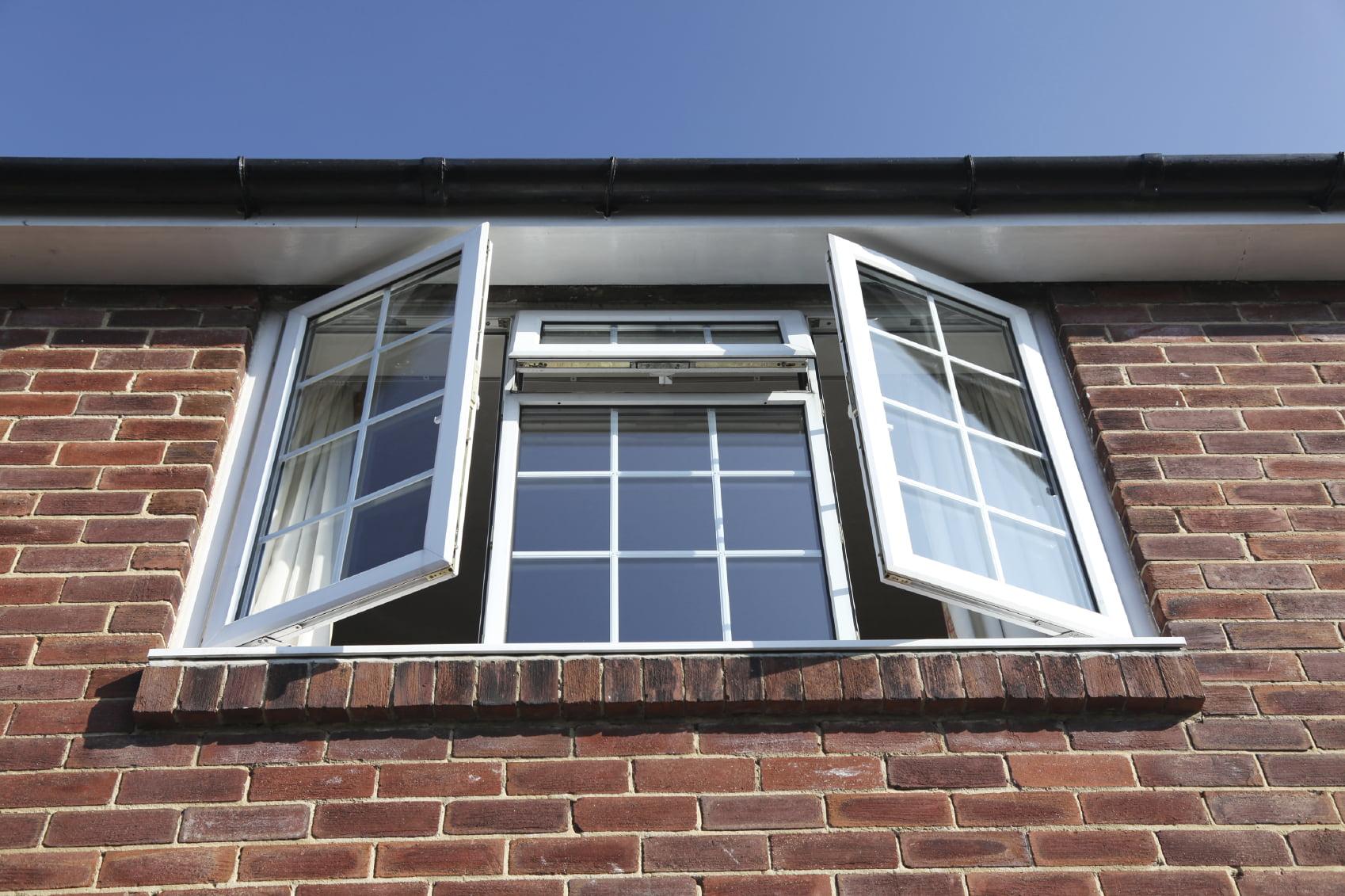 Classic uPVC double glazing Kommerling windows